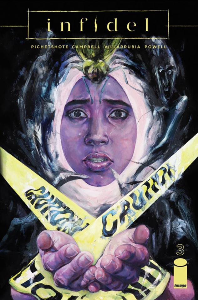 Infidel #3 (Urusov Cover)