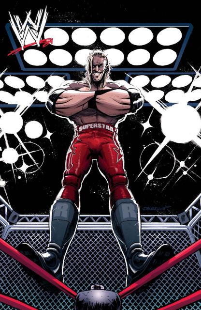 WWE #3 (25 Copy Burnett Cover)