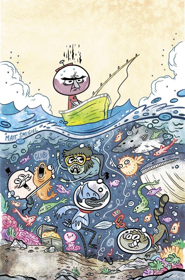 Regular Show #33 (Subscription Smigiel Cover)