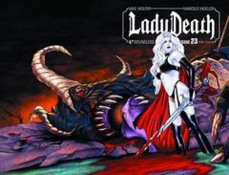 Lady Death #23 (Wrap Cover)