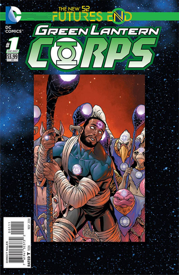 Green Lantern Corps: Future's End #1