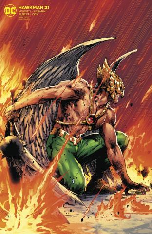 Hawkman #21 (Gerardo Zaffino Cover)