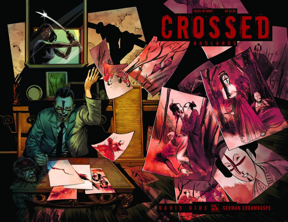 Crossed: Badlands #40 (Wrap Cover)