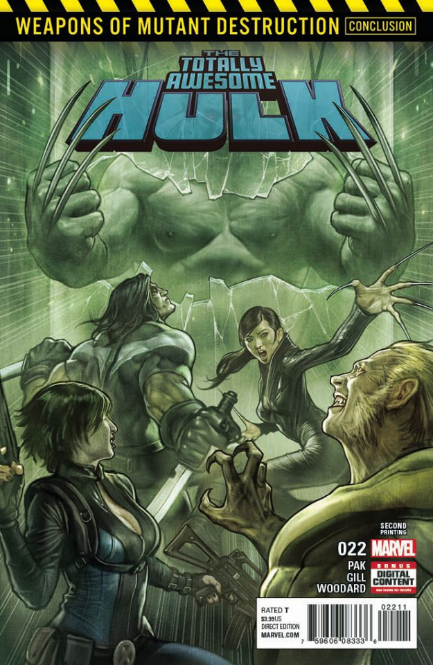 Totally Awesome Hulk #22 (Stonehouse 2nd Printing)