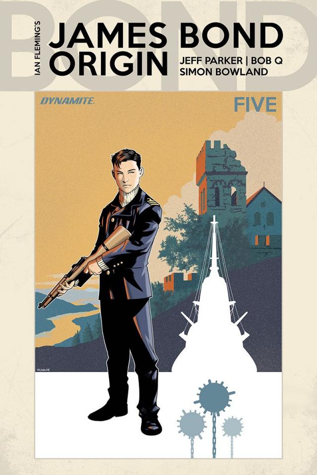 James Bond: Origin #5 (McKone Cover)