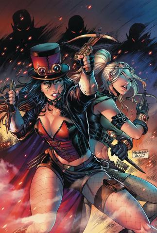Van Helsing vs. Dracula's Daughter #3 (Goh Cover)