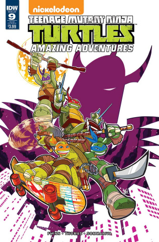Teenage Mutant Ninja Turtles: Amazing Adventures #9 (Subscription Cover)