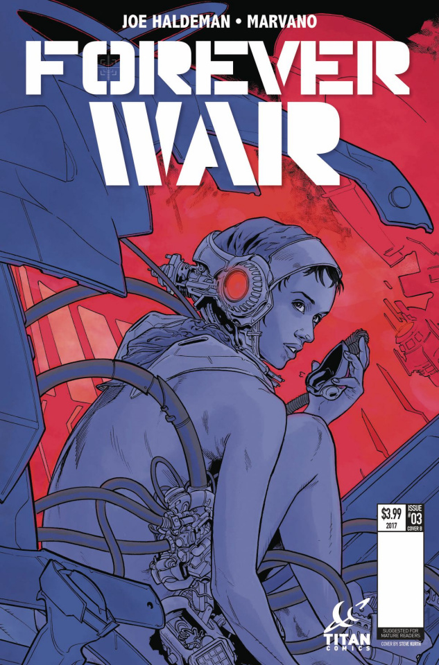 The Forever War #4 (Kurth Cover)
