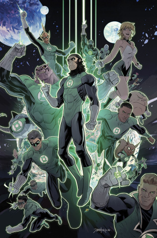 The Planet of the Apes / The Green Lantern #3