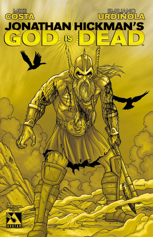 God Is Dead #32 (Gilded Cover)