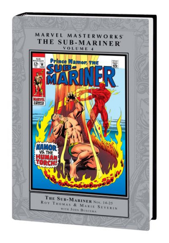 Marvel Masterworks: Sub-Mariner Vol. 4