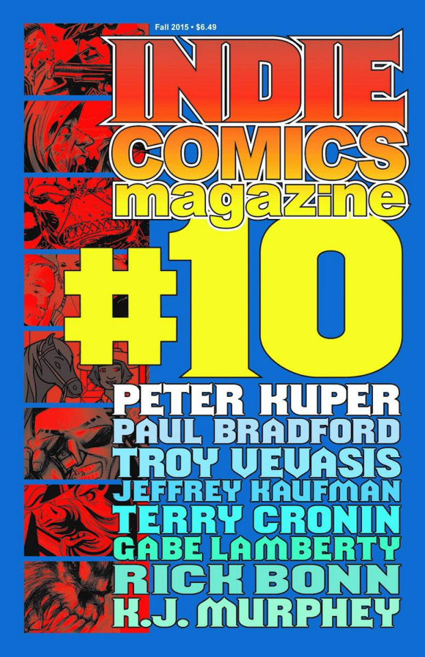 Indie Comics Magazine #10