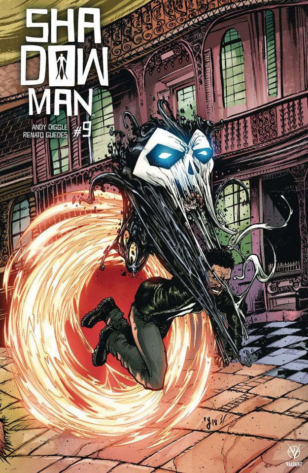 Shadowman #9 (20 Copy Interlocking Lee Cover)
