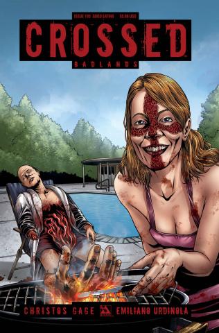Crossed: Badlands #100 (Good Eating Cover)