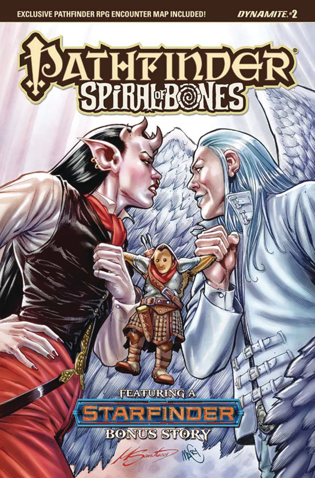 Pathfinder: Spiral of Bones #2 (Santucci Cover)