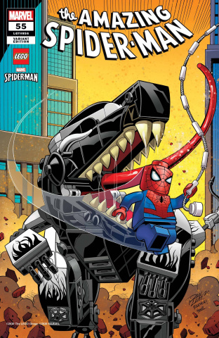 The Amazing Spider-Man #55 (Ron Lim Lego Cover)