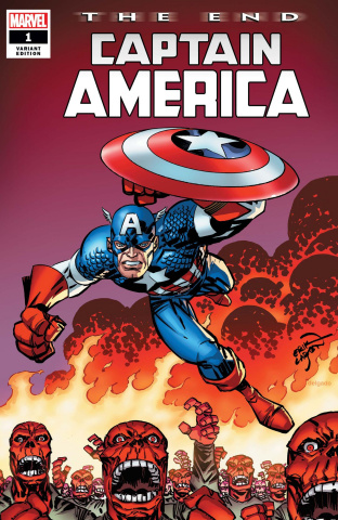 Captain America: The End #1 (Larsen Cover)