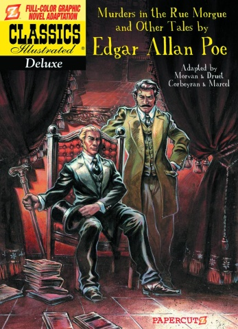 Classics Illustrated Vol. 10: Murders in the Rue Morgue and Other Tales