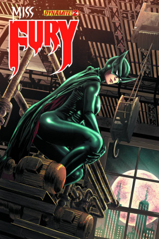 Miss Fury #2 (Reis Cover)