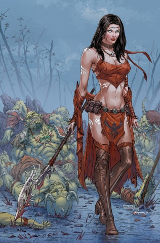 Grimm Fairy Tales: Robyn Hood - The Legend #3 (Malsuni Cover)