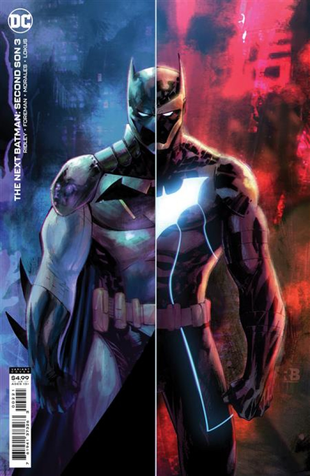 The Next Batman: Second Son #3 (Ryan Benjamin Card Stock Cover)
