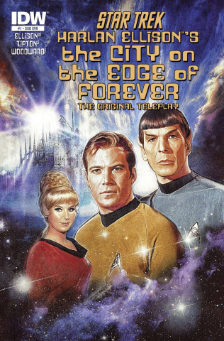 Star Trek: The City on the Edge of Forever #1 (Subscription Cover)