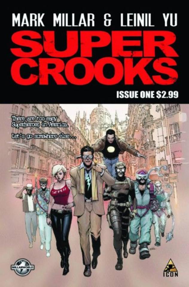 Supercrooks #1 (2nd Printing)