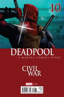 Deadpool #10 (Andrasofszky Civil War Cover)