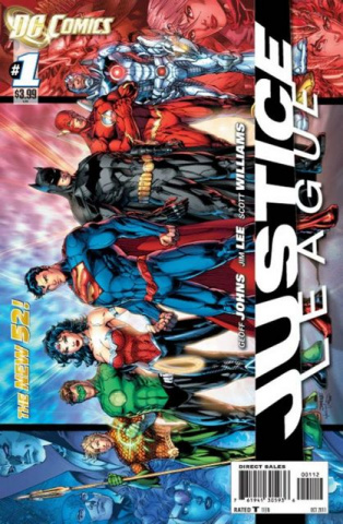 Justice League #1 (2nd Printing)
