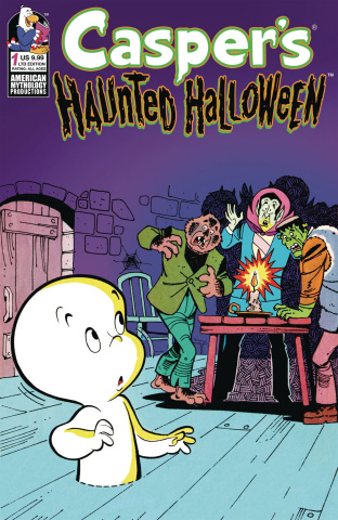 Casper's Haunted Halloween #1 (Retro Animation Cover)