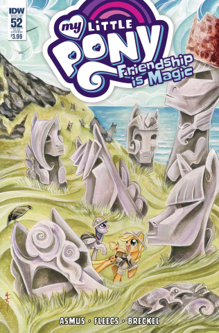My Little Pony: Friendship Is Magic #52 (Subscription Cover)