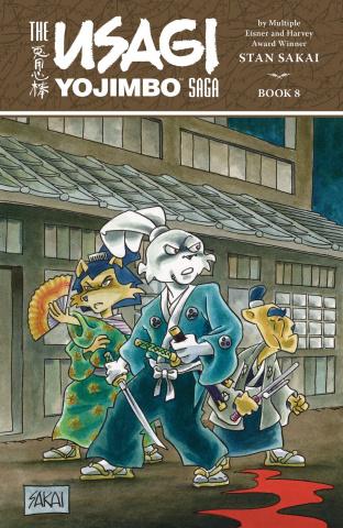 The Usagi Yojimbo Saga Vol. 8
