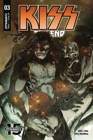 KISS: The End #3 (Sayger Cover)