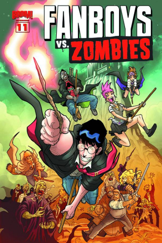 Fanboys vs. Zombies #11