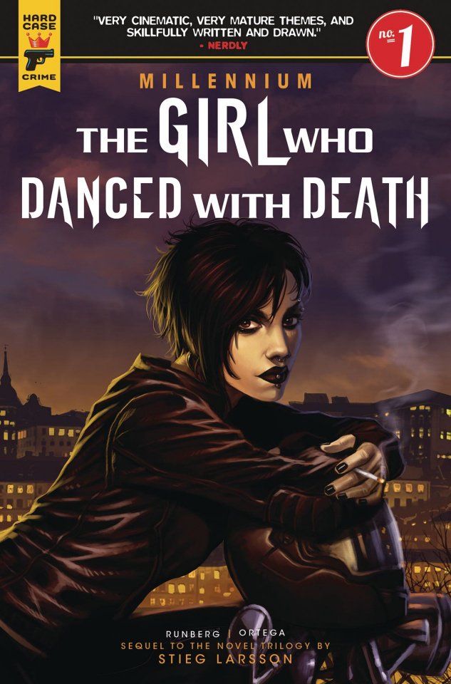 The Girl Who Danced with Death #1 (Iannicello Cover)