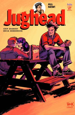 Jughead #2 (Hack Cover)