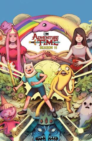 Adventure Time, Season 11 #1 (Subscription Benbasset Cover)