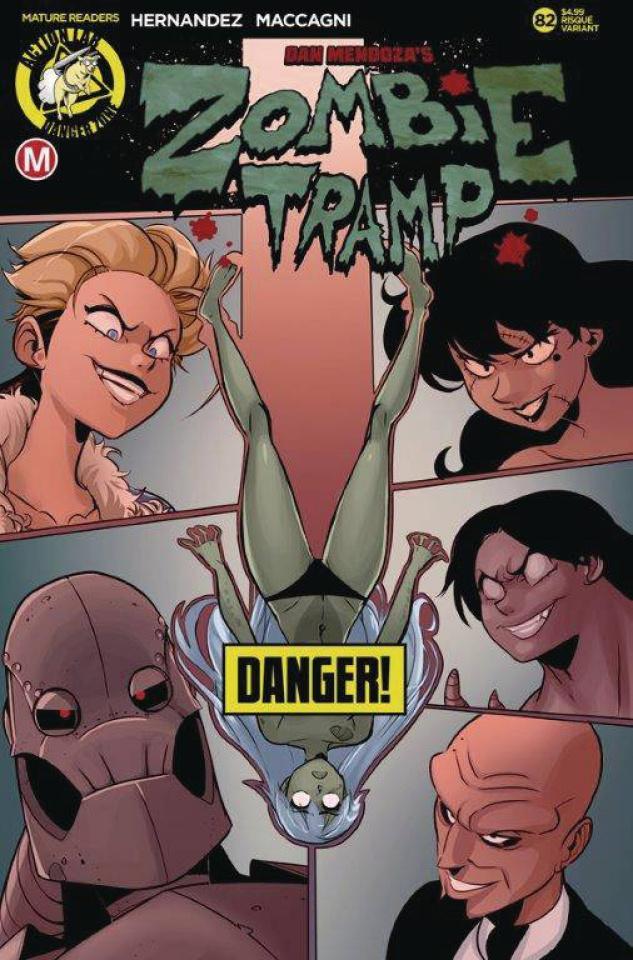 Zombie Tramp #82 (Maccagni Risque Cover)