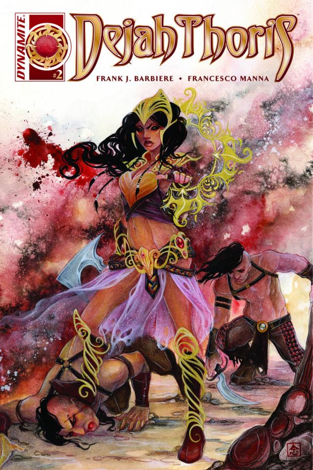 Dejah Thoris #2 (Nen Cover)