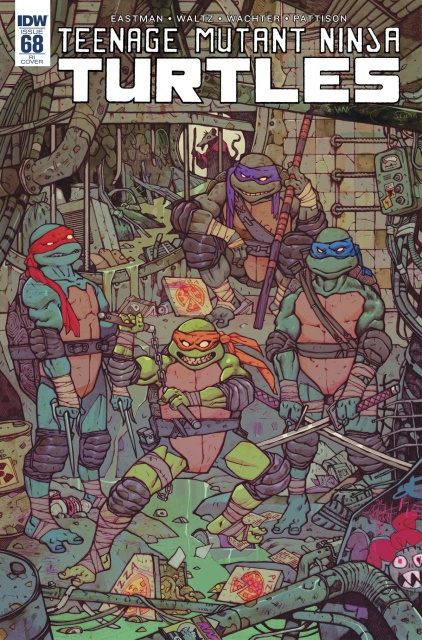 Teenage Mutant Ninja Turtles #68 (10 Copy Cover)