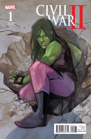 Civil War II #1 (Noto Character Cover)