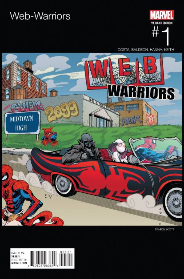 Web Warriors #1 (Scott Hip Hop Cover)