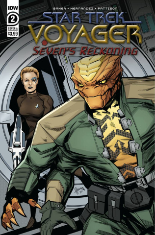 Star Trek: Voyager - Seven's Reckoning #2 (Hernandez Cover)