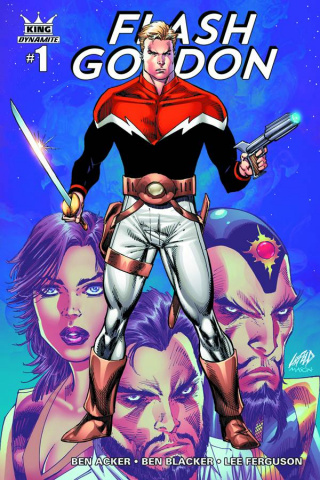 Flash Gordon #1 (20 Copy Liefeld Color Cover)