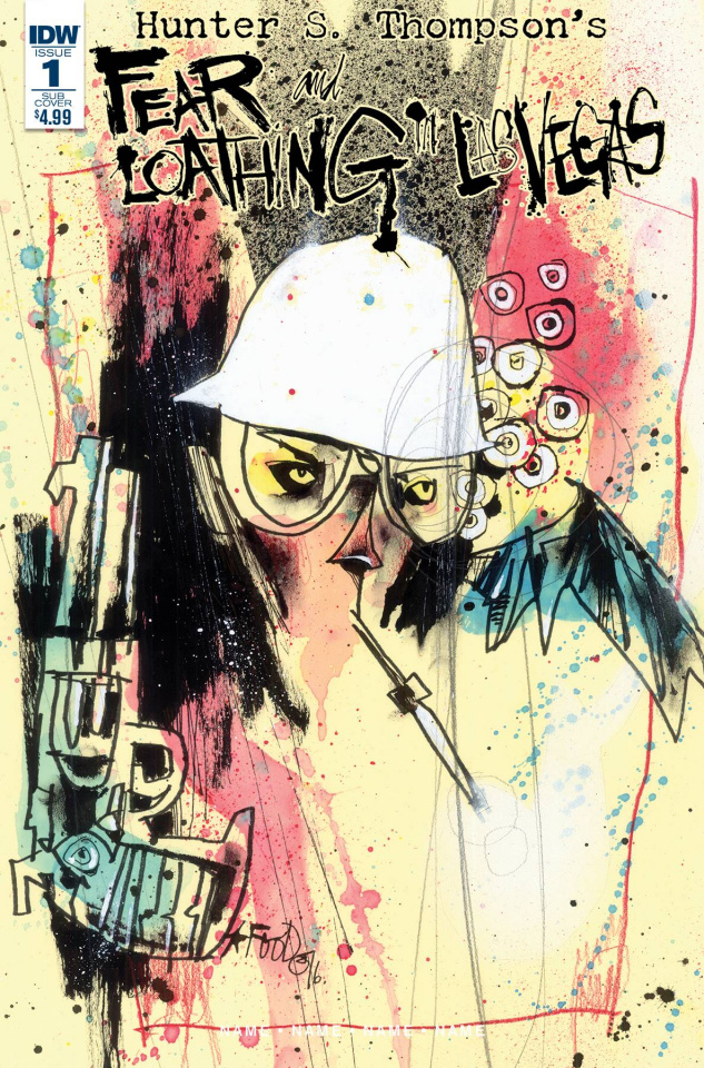 Fear and Loathing in Las Vegas #1 (Subscription Cover)