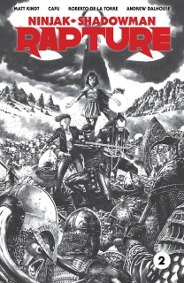 Rapture #2 (50 Copy B/W Sketch Suayan Cover)
