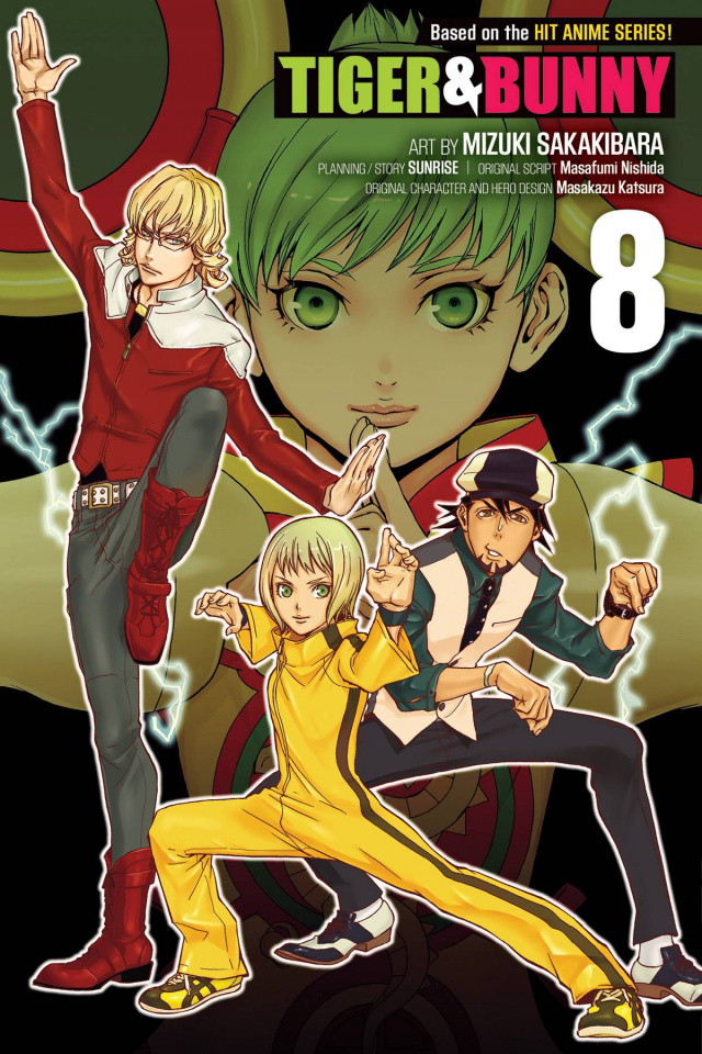Tiger & Bunny Vol. 8