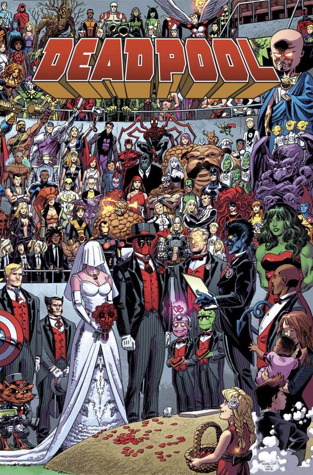 The Wedding of Deadpool #1 (True Believers)