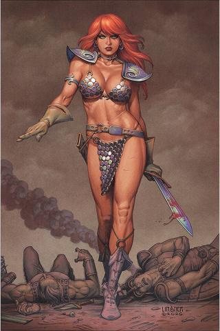 Red Sonja #20 (Linsner Virgin Cover)