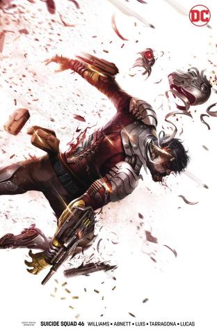 Suicide Squad #46 (Sink Atlantis Cover)